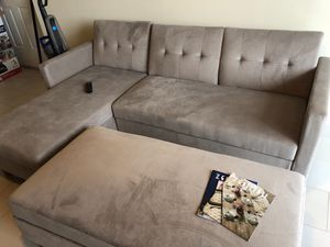 BRAND NEW Velvet Couch for Sale in Fort Lauderdale, FL