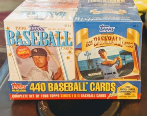 1996 Topps Factory Cereal Box Set for Sale in Sacramento, CA
