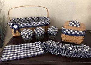 Longaberger Blue Ribbon Baskets Collector's for Sale in Phoenix, AZ
