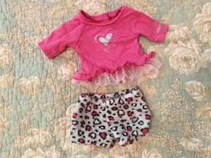 "American Girl Doll ""Lovely Leopard Pj's"" Outfit for Sale in Denver, NC"