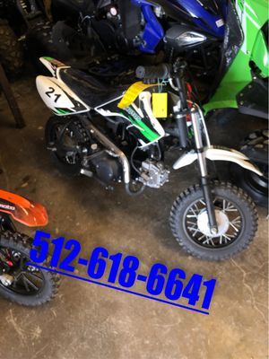 90CC Youth Dirt Bike for Sale in San Marcos, TX