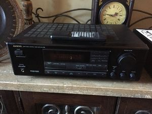 Onkyo TX-SV424 Surround Receiver with Phono Input & Remote for Sale in Chandler, AZ