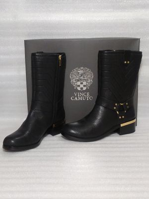 Vince Camuto boots. Size 8.5 women's shoe. Black leather. Brand new in box. Retail $170 for Sale in Suffolk, VA