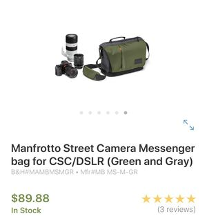 Camera bag for Sale in West Palm Beach, FL