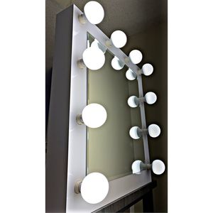 MakeUp Vanity Hollywood Style MIRROR! Brand New! All Dimmable bulbs Included, 1 year WARRANTY! MIRROR ONLY! for Sale in San Diego, CA