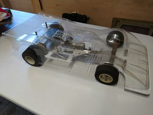 Vintage RC car Associated rc100 for Sale in Pacific Beach, WA