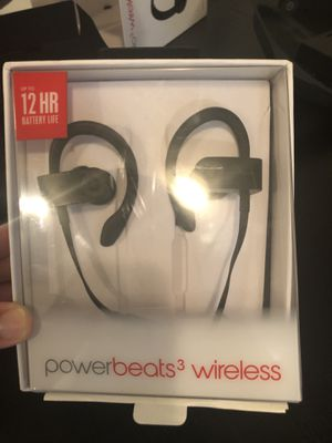 Used PowerBeats 3 Wireless $100 for Sale in Lauderhill, FL