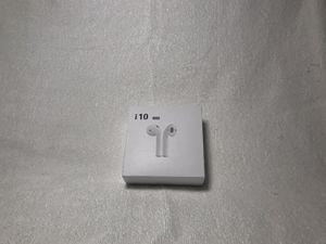 i10 TWS earbuds, wireless, wireless charging for Sale in Las Vegas, NV