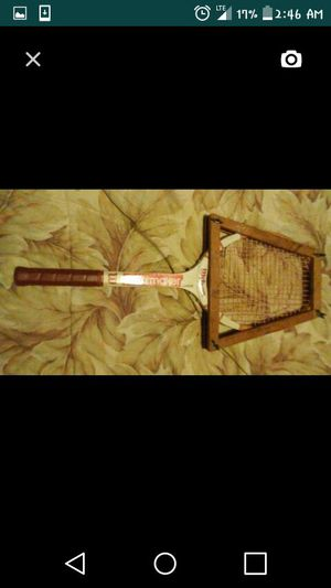 Vintage tennis racket for Sale in St. Louis, MO