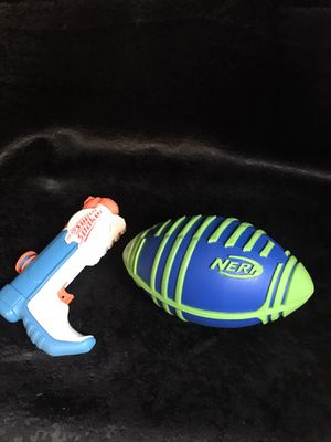 Nerf football/Nerf SuperSoaker! for Sale in Savannah, GA