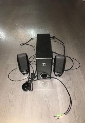 Speakers with small subwoofer for Sale in Durham, NC