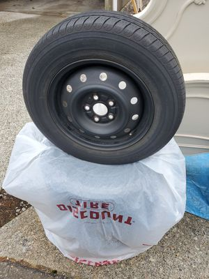 Stock rims & tires from Subaru legacy 5 / 100 for Sale in Puyallup, WA