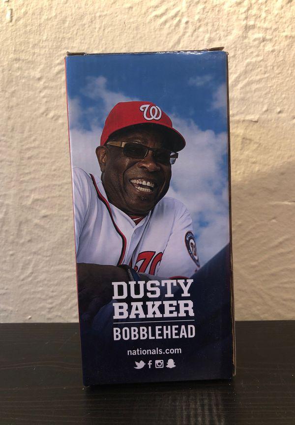 Washington Nationals 2016 Dusty Baker Bobblehead