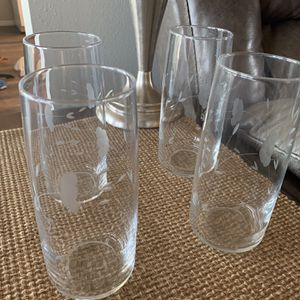 Princess House Crystal 24oz Glasses for Sale in Corona, CA