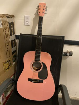 Pink Asheville Guitar for Sale in Issaquah, WA