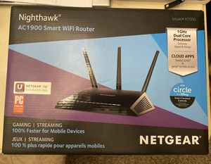 Netgear Nighthawk AC1900 Smart WiFi Router for Sale in Alafaya, FL
