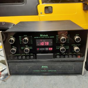 MCINTOSH AUDIO EQUIPMENT (3 Pieces) Read Add for Sale in Valley Center, CA