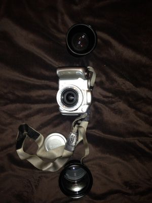 Cannon power shot digital camera with lenses for Sale in Seattle, WA