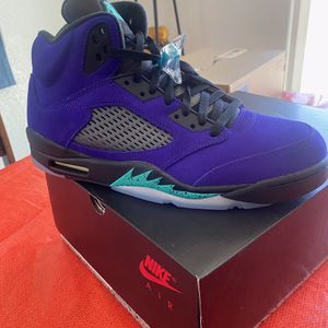 NEW Jordan 5 Retro Grape size 12 for Sale in Pahrump, NV