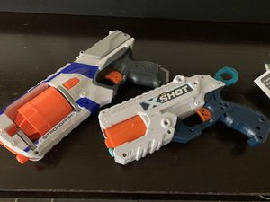 2 nerf guns for Sale in Culver City, CA