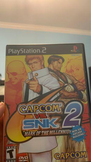 Capcom Vs SNK 2 ps2 for Sale in Los Angeles, CA