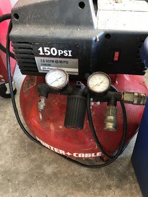 Porter Cable Nail Gun, 3 Brad Nailers, Compressor, nails for Sale in Ridgefield, WA
