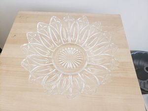 Crystal Serving Dish for Sale in Bloomfield, NJ