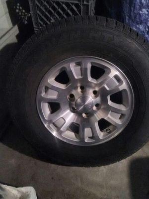 "2016 GMC 17"" 6-Lug Wheels & Tires for Sale in San Antonio, TX"