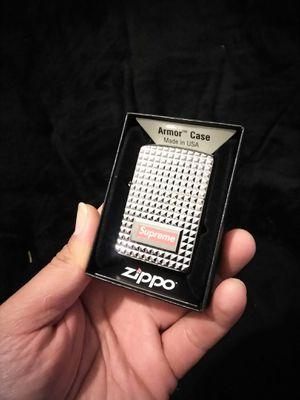 Supreme Zippo (diamond cut) silver for Sale in West Covina, CA