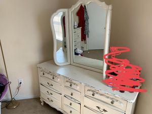 Dresser & dresser with mirror. Refurbish ready for Sale in Richmond, VA
