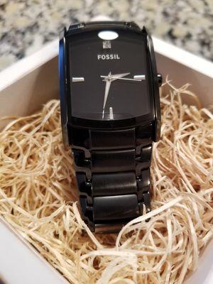 Fossil Arkitekt Watch - Black Stainless Steel for Sale in Spring, TX