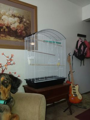 New huge wire bird cage with 4 doors and dome top for Sale in Sioux Falls, SD