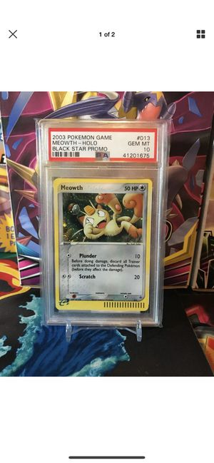 PSA 10 Holo Meowth for Sale in San Clemente, CA