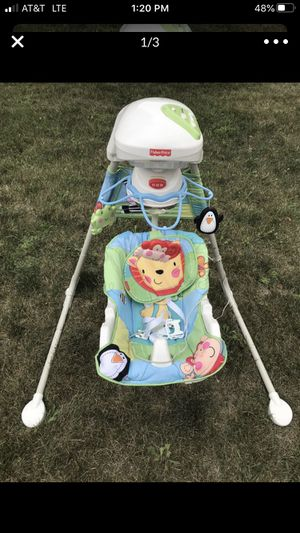 Fisher price baby swing for Sale in Lockport, IL