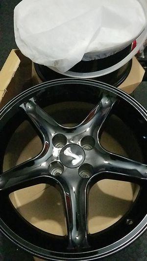 R Cobra rims 17x9 BLACK brand new for Sale in Oxnard, CA