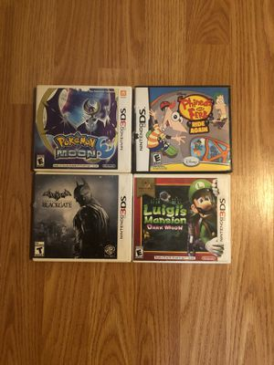 Nintendo 2 and 3 ds games for Sale in Albany, TX