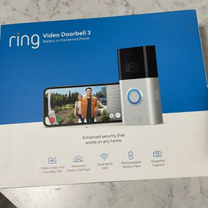Ring Video Doorbell 3 for Sale in Washingtonville, NY