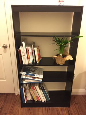 4-Shelf Storage Bookcase, Royal Cherry - $35 for Sale in San Francisco, CA