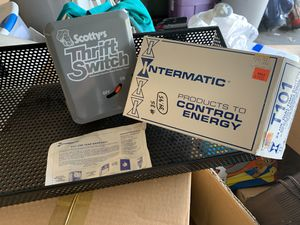 Scotty's Thrift Switch - Electric Water Heater Time Switch for Sale in Plant City, FL