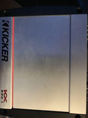 Kicker kx 800.1 mono for Sale in Philadelphia, PA