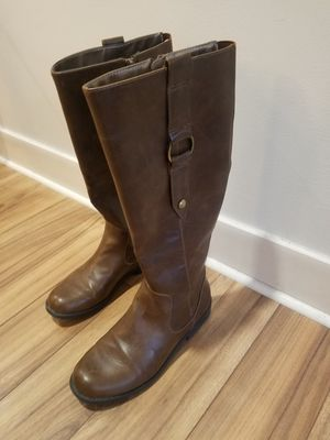 Lifestride brown riding boots for Sale in MIDDLE CITY EAST, PA