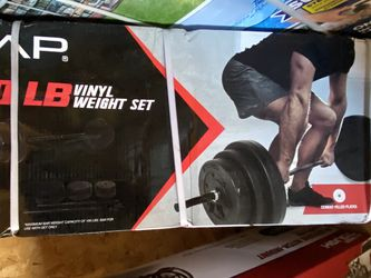 New 100lb Adjustable Barbell Weight Set for Sale in Snohomish,  WA