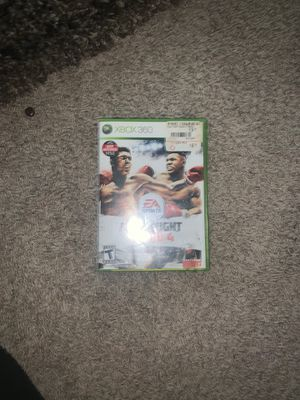 Fight Night Round 4 Xbox 360 for Sale in Tucson, AZ