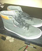 A pair of high top Levi shoes 10.5 for Sale in Nashville, TN