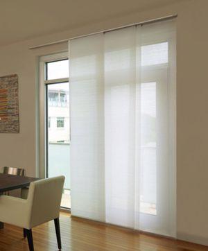 Whisper white Levolor panel track blinds for Sale in Las Vegas, NV