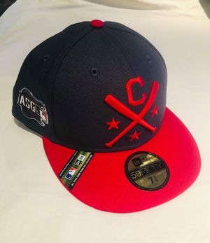 Cleveland Indians MLB 2019 All Star Game Hat Size 7 3/8 Brand New Gray and Red for Sale in Monterey Park, CA