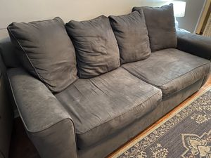 Gray Microfiber couch for Sale in Westfield, NJ