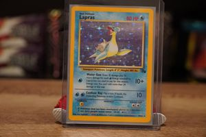 LAPRAS FOSSIL NO 1ST POKEMON CARD OLD VINTAGE for Sale in Lewisville, TX