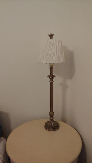 Lovely tall candlestick lamp for Sale in Houston, TX