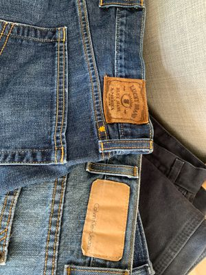 Lucky, Calvin Clien, Levi's Jeans in men's 36x30 and 38x30 for Sale in Austin, TX